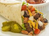 Burrito supreme — Stock Photo