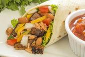 Beef burrito — Stock Photo