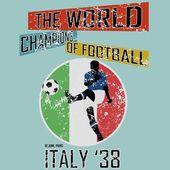 Grunge style world football theme vol.3 — Vector de stock