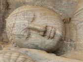 Giant statue of sleeping Buddha — Stock Photo