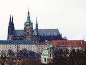 Stare Mesto , St. Vitus Cathedral. Prague, Czech Republic — Stockfoto
