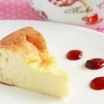 Cottage cheese cake — Stock Photo #51777783