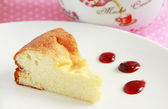 Cottage cheese cake — Stock Photo