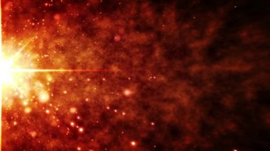 Supernova Star Explosion in Slow Motion Loopable Background — Stock Video