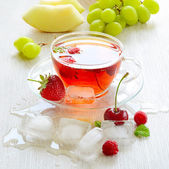 Ice-Tea in a cup  — Foto Stock