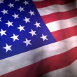 Flag of the United Staates of America USA — Stock Video #47608183