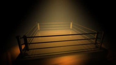 Boxing Ring — Stock Video