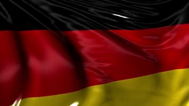 National Flag of Germany — Stock Video