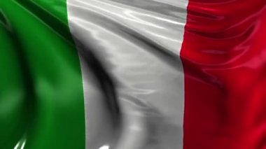 National flag of Italy — Stock Video