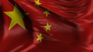 National flag of China — Stock Video