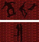 Wall — Stock Vector