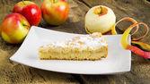 Apple pie cake — Stock Photo