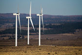 Wind turbines in central Washington state — Stock Photo