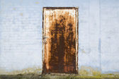 Rusty door — Stock Photo