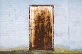 Rusty door — Stock Photo