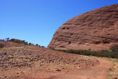 Sacred Place Uluru — Stock Photo