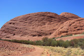 Sacred Place Uluru — Stock Photo