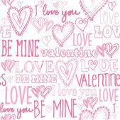 Be mine valentine — Stock Vector