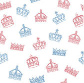 Crowns bunting — Stock Vector