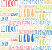 London-Typografie — Stockvektor