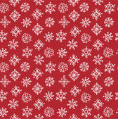Doodle fiocchi di neve — Vettoriale Stock