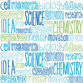 Science words — Stock Vector