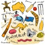 Australian doodles — Stock Vector #48659369