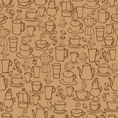 Coffee icons — Stok Vektör
