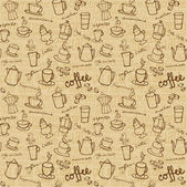 Coffee background — Stock Vector
