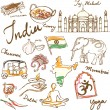India icons illustration — Stock Vector #48691011