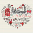I Love London — Stock Vector #48697875