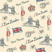London pattern — Wektor stockowy