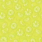 Sliced lemons — Stock Vector