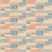 London typography — Stock Vector