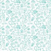 Medicine icons pattern — Stockvector
