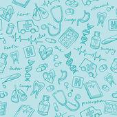 Geneeskunde pictogrammen — Stockvector