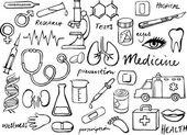 Iconos médicos — Vector de stock