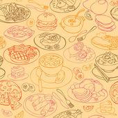 Various food — Stock Vector