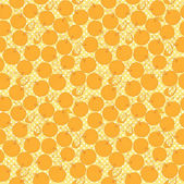 Oranges pattern — Stock Vector