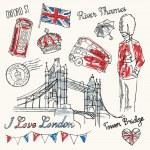 I love London — Stock Vector #48728961