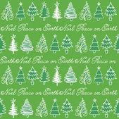 Kerstmis bomen achtergrond — Stockvector