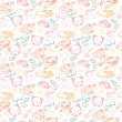 Seafood  pattern — Stock Vector #49205031