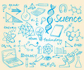 Science background — Vector de stock