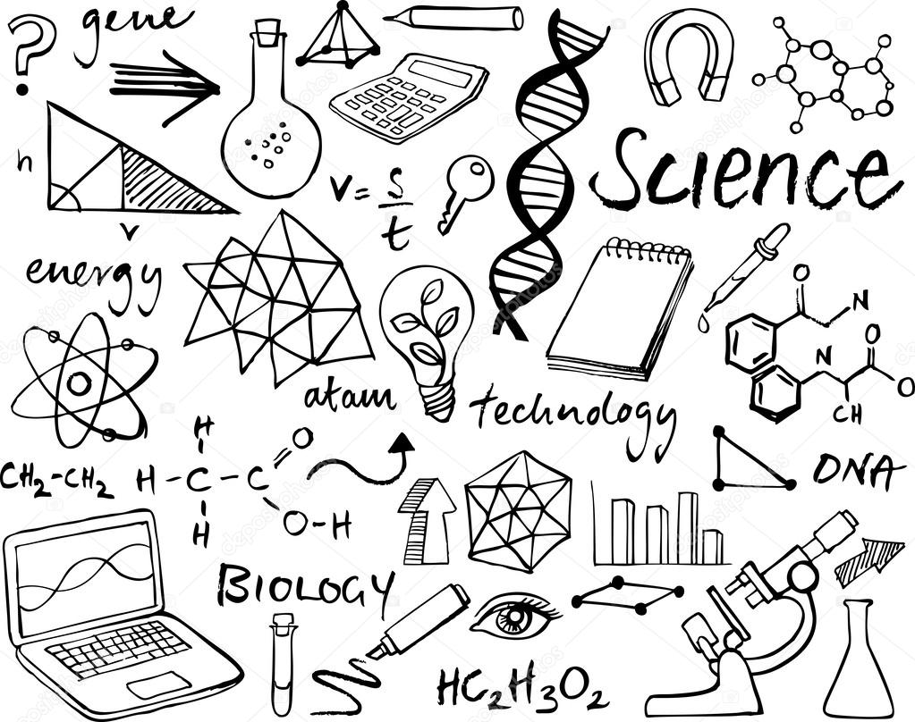 Science Themed Coloring Pages