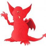 Постер, плакат: Red satan
