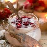 Yogurt dessert — Stock Photo #48105485
