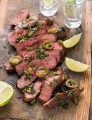 Mexican steak — Stock Photo