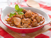 Provencial chicken stew — Stock Photo