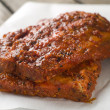 BBQ spare ribs — Stock Photo #48131715