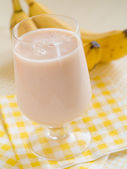香蕉奶昔 — 图库照片